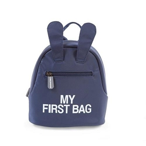 My First Bag Navy/White