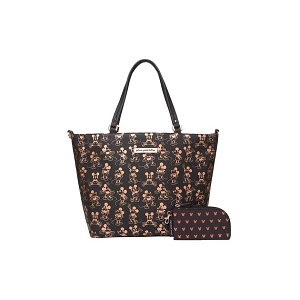 Downtown Tote - Metallic Mickey Mouse