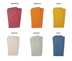 Organic Swaddling Blanket- Multiple Colors