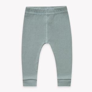Ribbed Legging - Sea Green