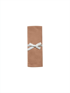 Quincy Mae Jersey Knit swaddle - Rust