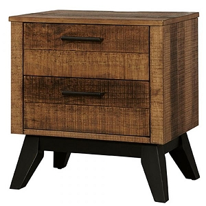 Westwood Urban Rustic Nighstand - Brushed Wheat