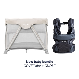New Baby Bundle - Nuna Cove Champagne + CUDL Aspen