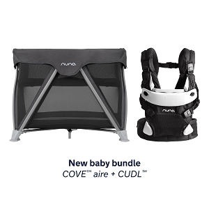 New Baby Bundle - Nuna Cove + CUDL in Caviar