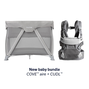 New Baby Bundle - Nuna Cove + CUDL in Frost