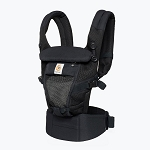 Ergo Adapt Cool Air Mesh Baby Carrier - Onyx Black