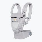 Ergo Adapt Cool Air Mesh Baby Carrier - Pearl Grey