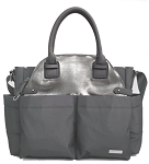 Chelsea Downtown Chic Diaper Bag - Charcoal Shimmer