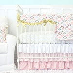 Caden Lane Alexis' Gilded Arrow Baby Bedding