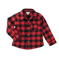 Mud Pie Alpine Flannel - Buffalo Check