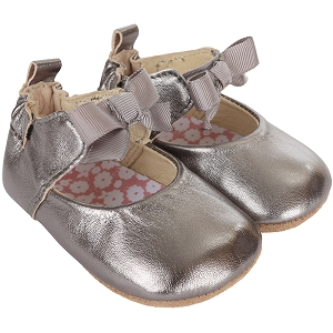 Robeez First Kicks - Amelia Ankle Strap in Grey