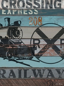 American Byways Wall Art - Railway