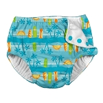 Iplay Snap Swim Diaper - Aqua Surfboard Sunset