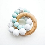 Trinity Teether - Robins Egg Blue