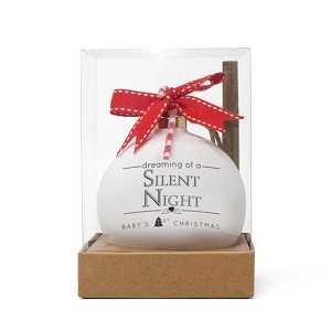 Quotaball Ornament - Silent Night