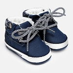 Mayoral Baby Boy Lace Up Boots - Night