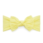 Bow Knot Headband - Lemon
