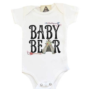 Baby Bear Onesie - Girl