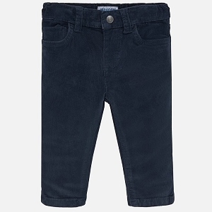 Mayoral Baby Boy Corduroy Pant - Navy