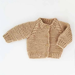 Knit Cardigan - Latte