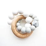 Trinity Teether - Cool Grey