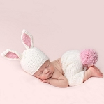 Bailey Bunny Newborn Set - Pink