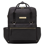 Balance Backpack - Black Matte Leatherette