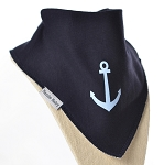 Anchors Away Bandana Bib