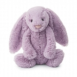 Jellycat Bashful Lilac Bunny - Medium