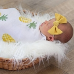 Swaddle Blanket - Posh Pineapple
