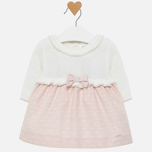 Mayoral Dress baby girl - Blush