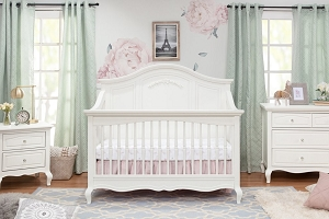 Mirabelle 4 in 1 Crib - Warm White