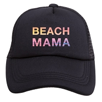 Tiny Trucker Hat - Beach Mama