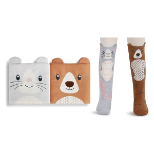 Bear & Mouse Book & Sock Gift Set