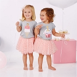 Mud Pie Birthday Confetti Tutu Set