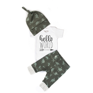 Dinosaur Hello World Outfit