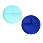 Chewbeads Silicone Plates Set - Turquoise & Blue