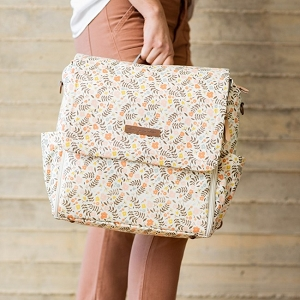 Boxy Backpack - Windswept Blooms