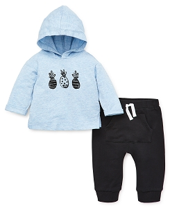 Baby Boy Pineapple Sweat Suit