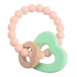 Chewbeads Baby Brooklyn Teether - Blush