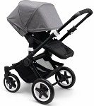 Bugaboo Buffalo - Grey Melange & Black