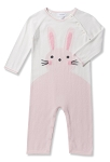 Angel Dear Bunny Coverall - Pink