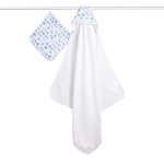 Exclusive! Hooded Towel & Washcloth Set - Scout