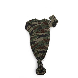 Knotted Gown - Army