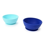 Chewbeads Silicone Bowls - Turquoise & Blue