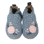 Robeez Soft Sole Chambray Bouquet