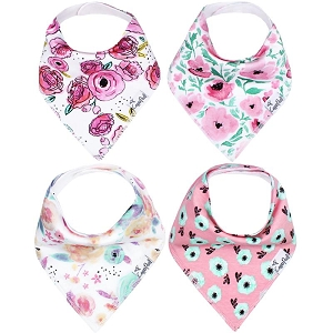 Bandana Bib Set - Bloom
