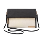 Crossover Clutch - Black & Birch