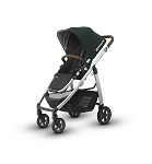 2017 UPPAbaby Cruz - Austin (Hunter/Silver/Leather)
