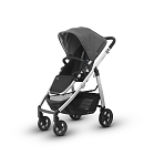 UPPAbaby Cruz - Jordan (Grey Melange/Silver/Leather)
